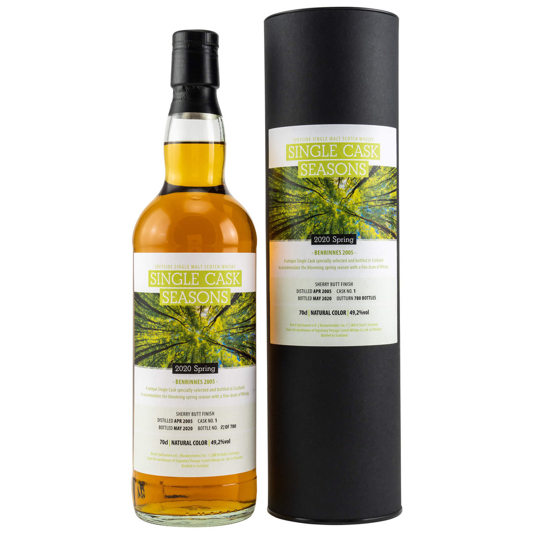 Single Cask Seasons Spring 2020 - Benrinnes 49,2% vol. - 0,7 Liter