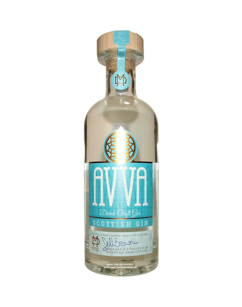 AVVA Scottish Craft Gin 43,0% vol. - 0,7 Liter