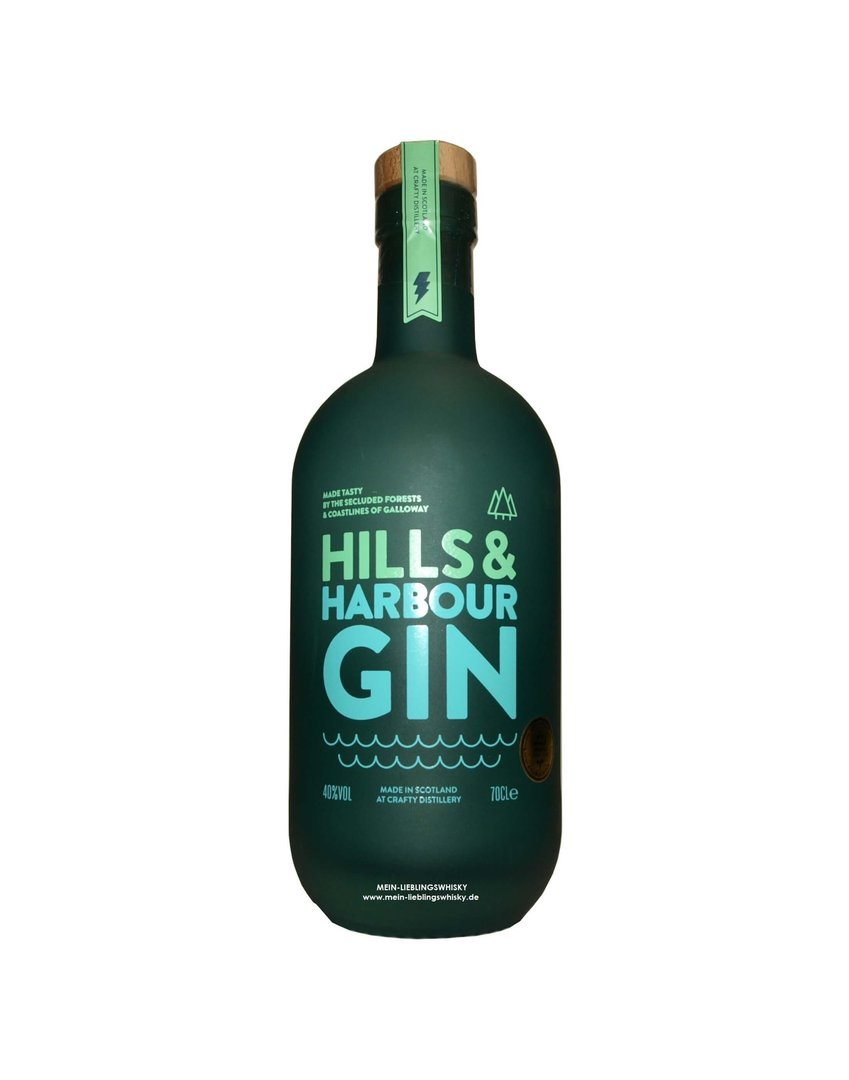 Hills and Harbour Gin 40,0% vol. - 0,7 Liter