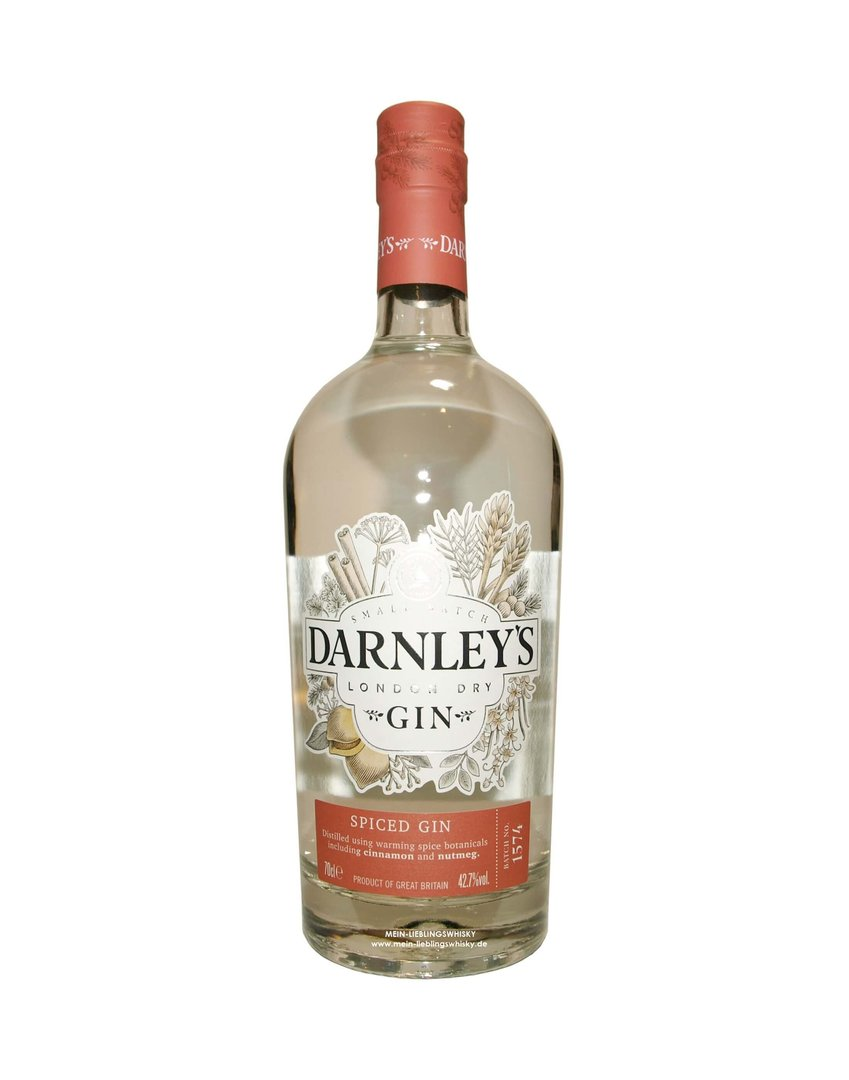 Darnley's London Dry Gin 42,7% vol. - 0,7 Liter