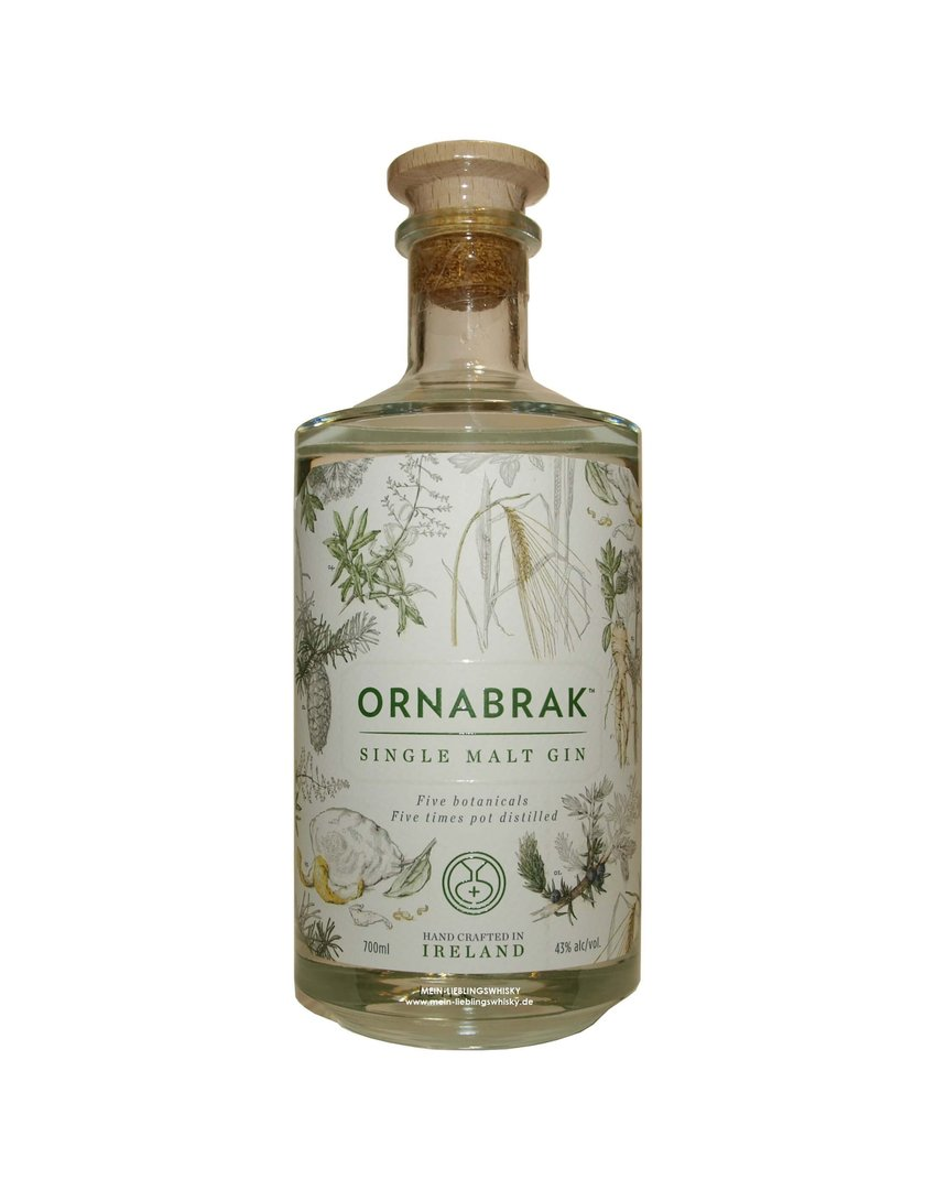 Ornabrak Single Malt Gin 43,0% vol. - 0,7 Liter