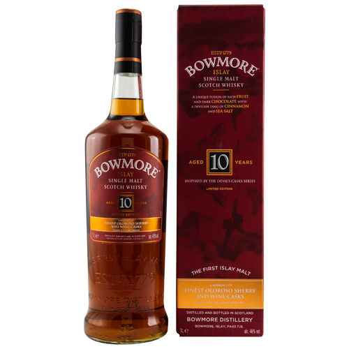 Bowmore 10 Jahre Limited Edition 46,0% vol. - 1,0 Liter