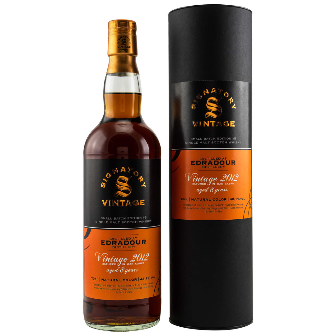 Signatory Edradour Small Batch Edition #8 - 48,1% vol. - 0,7 Liter
