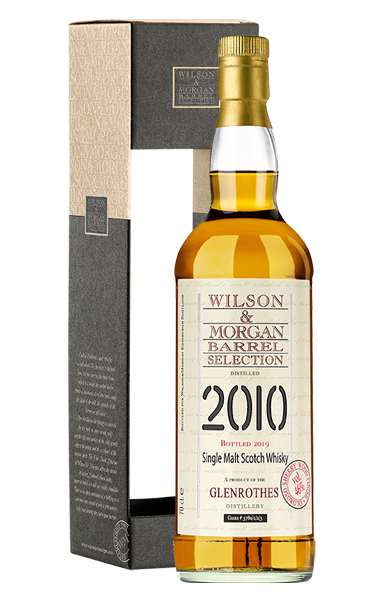 Wilson & Morgan Glenrothes 9 Jahre Single Malt 46,0% vol. 0,7 Liter