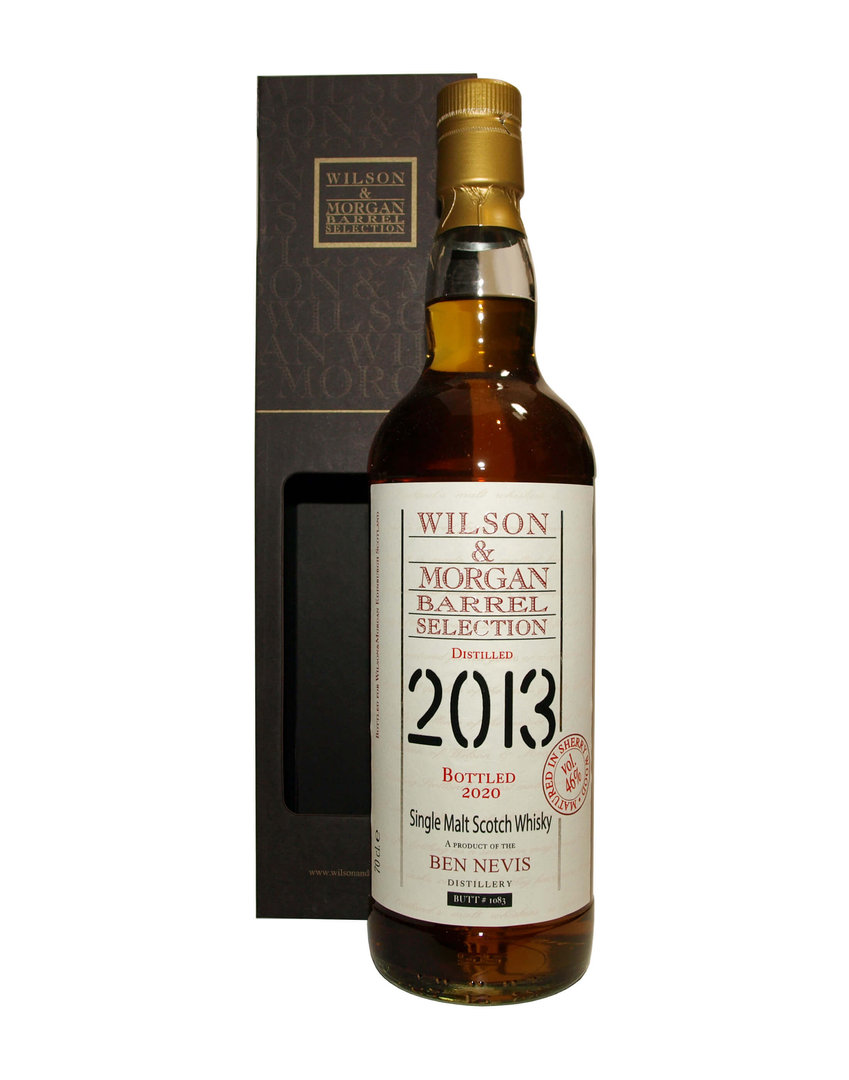 Wilson & Morgan Ben Nevis 7 Jahre Single Malt 46,0% vol. 0,7 Liter