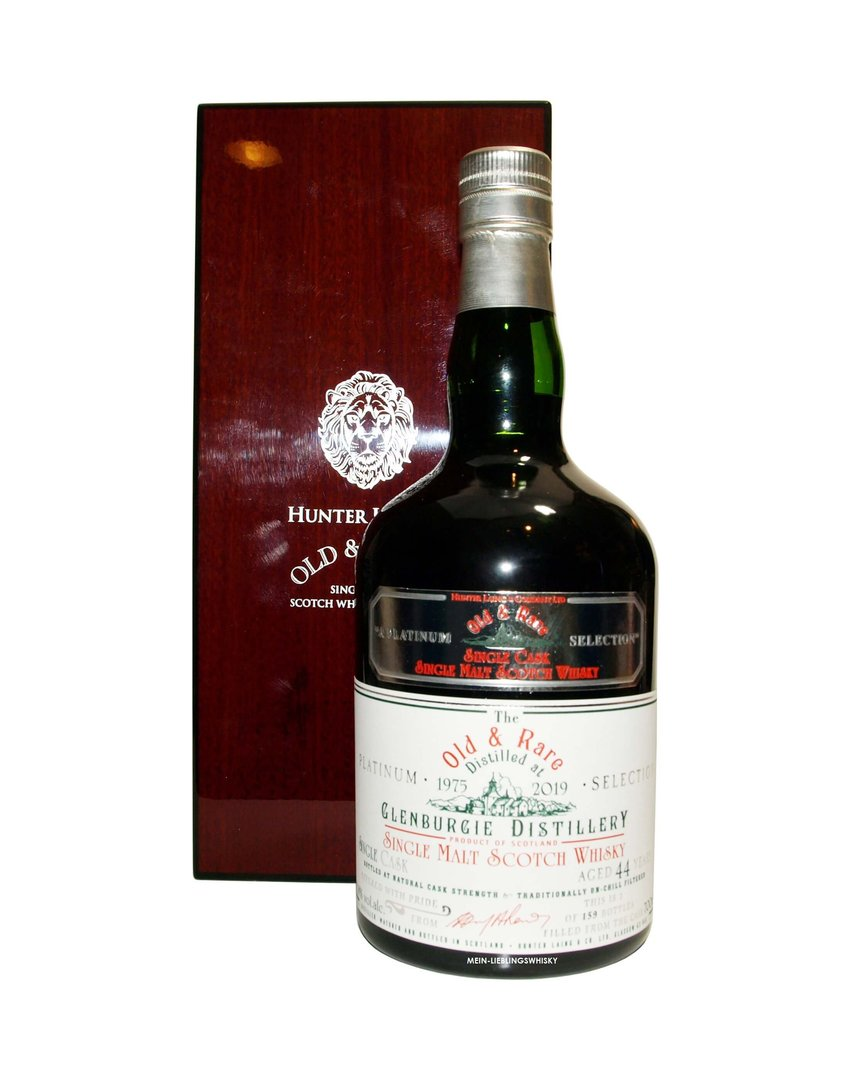 Hunter Laing Glenburgie 44 Jahre Old & Rare 41,8% vol. - 0,7 Liter