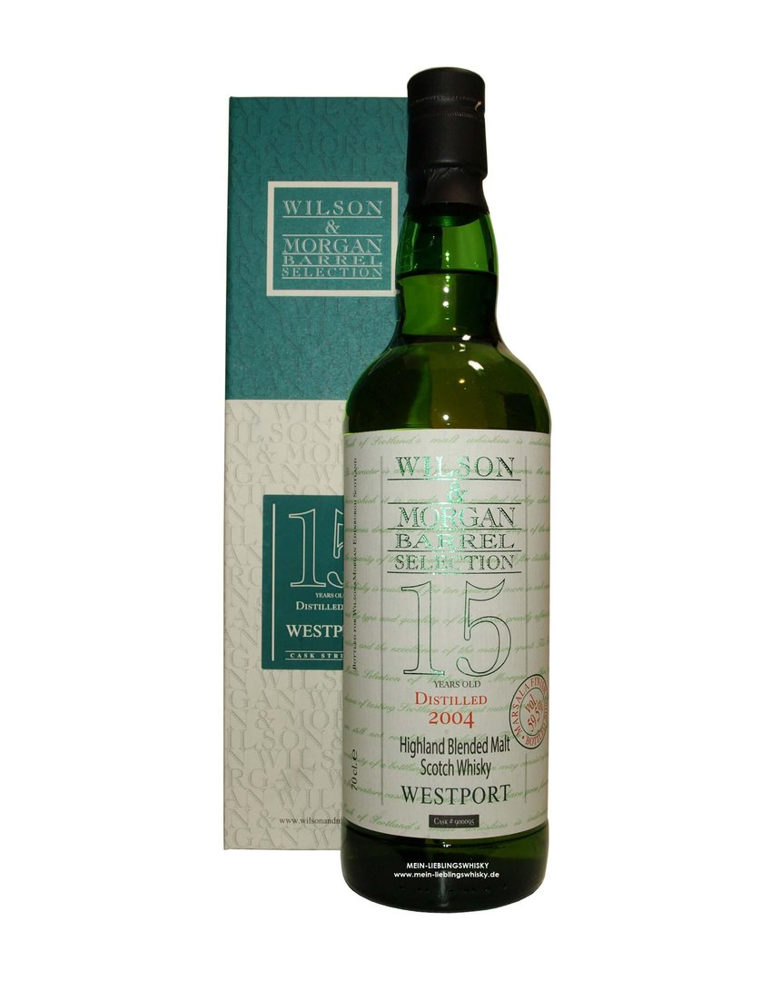 Wilson & Morgan Westport 15 Jahre Marsala Finish 59,5% vol. 0,7 Liter