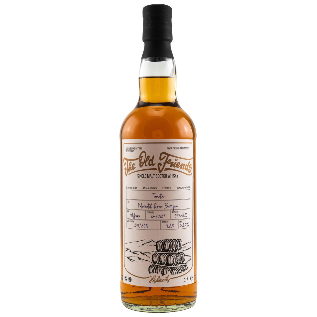 Old Friends Tomatin 2011/2020 Moscatel Barrique 53,7% vol. 0,7 Liter