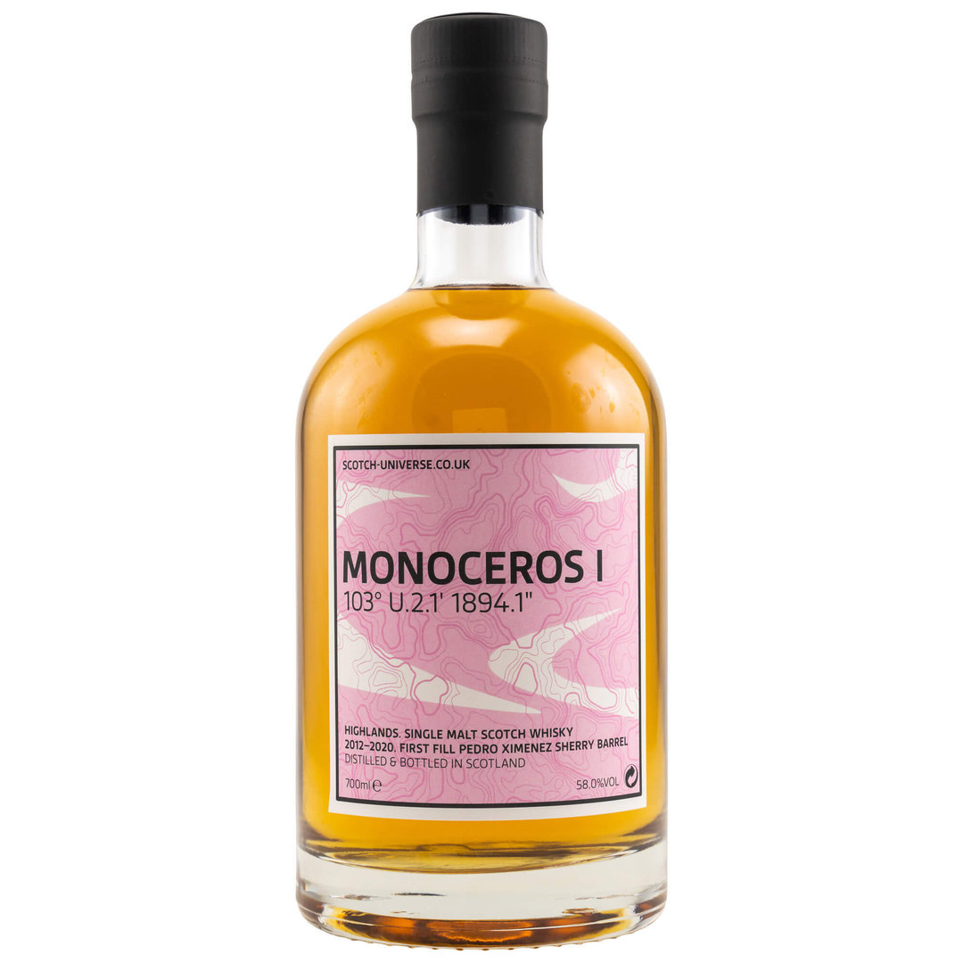 Scotch Universe MONOCEROS I 58,0% vol. 0,7 Liter