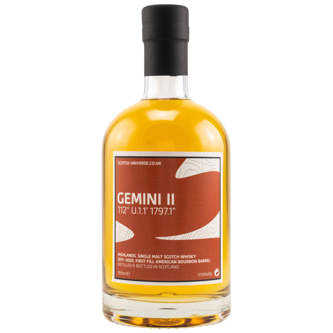 Scotch Universe GEMINI II 57,6% vol. 0,7 Liter