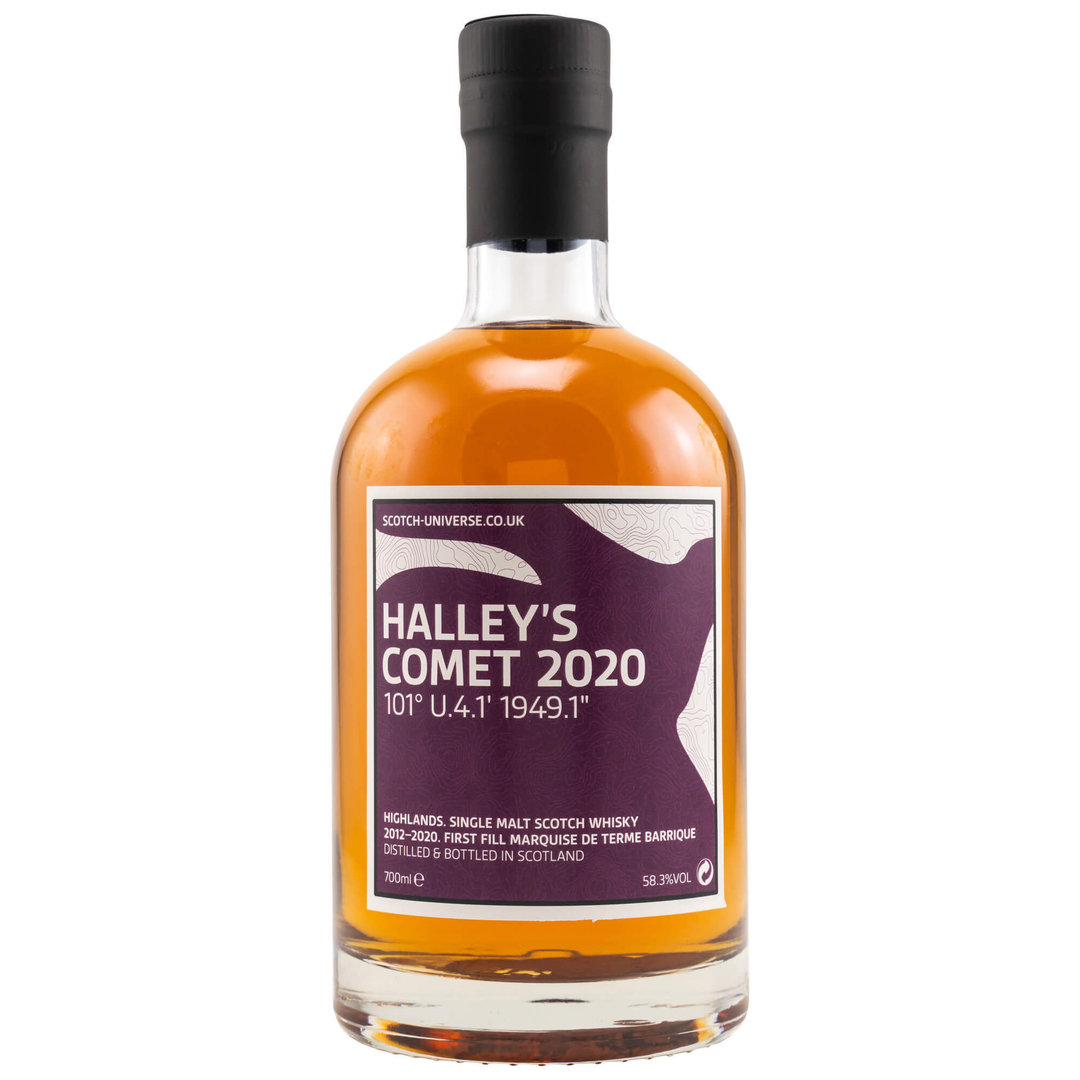 Scotch Universe HALLEY'S COMET 2020 - 58,3% vol. 0,7 Liter