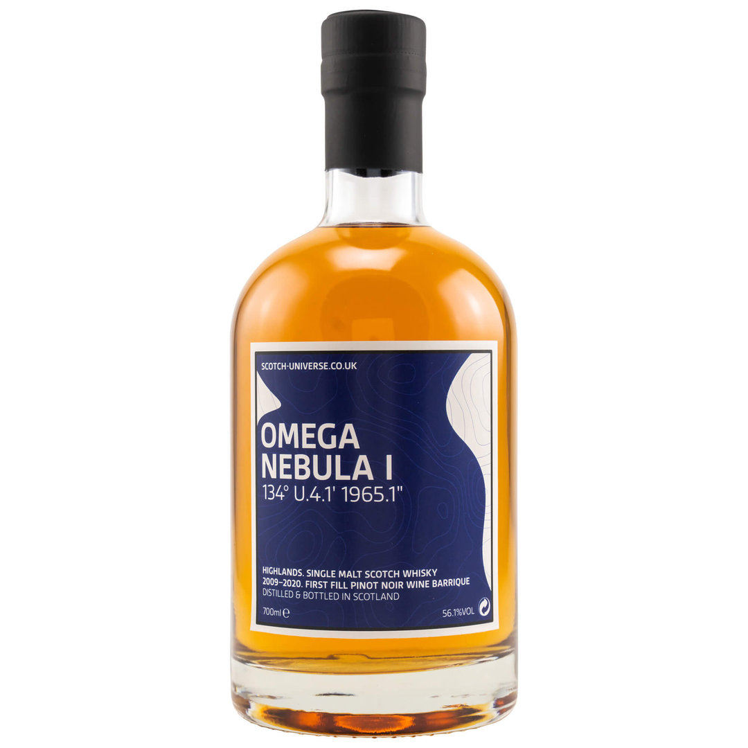 Scotch Universe OMEGA NEBULA I - 56,1% vol. 0,7 Liter