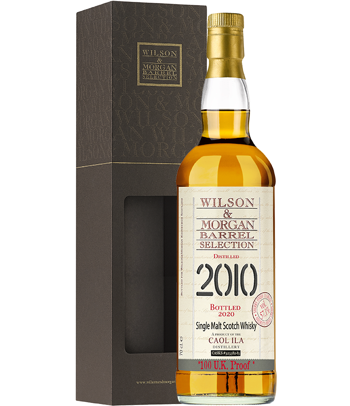 Wilson & Morgan Caol Ila Sherry Finish 100 UK Proof 57,1% vol. 0,7 Liter